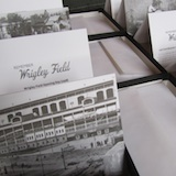Remember Wrigley Field set of 10 vintage note cards and envelopes