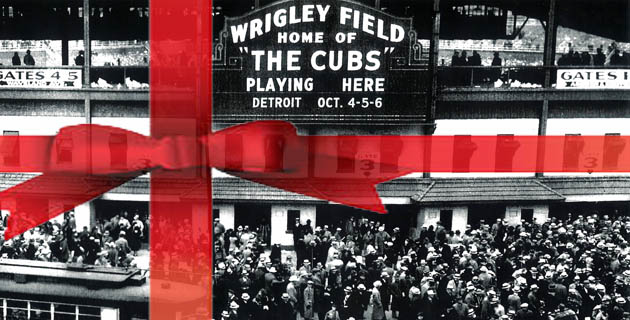 1935 Chicago Cubs World Series marquee