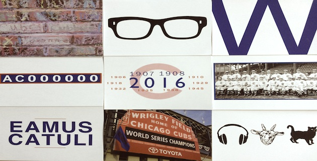 2016 World Series Tribute set of note cards
